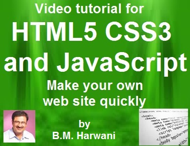 Learning Web Programming Using HTML5, CSS3 and JavaScript